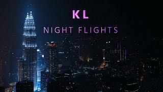 Kuala Lumpur | Night Flights in 4K  [DJI Phantom 3 Professional]