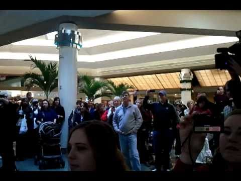 Flash mob at Lakeside Mall in Metairie, La