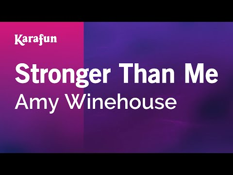 Karaoke Stronger Than Me - Amy Winehouse *