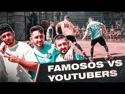 FAMOSOS vs YOUTUBERS *Partido Futbol Real*