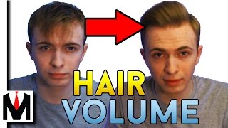 How to get MASSIVE Hair Volume and Lift | Men