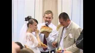 Свадебный каравай! Угощение. Ведущий на свадьбу.