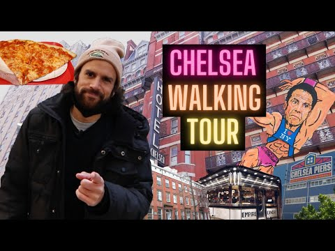 Chelsea, NYC: From Muffins to Madonna