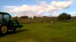 John Deere 4720 Servicio Jardinera Universidad de Mlaga Desbroce Clnicomp4