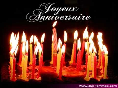 joyeux anniversaire youtube. Black Bedroom Furniture Sets. Home Design Ideas
