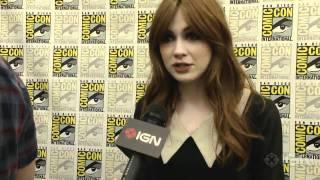 Comic-Con - Doctor Who - Karen Gillan Interview