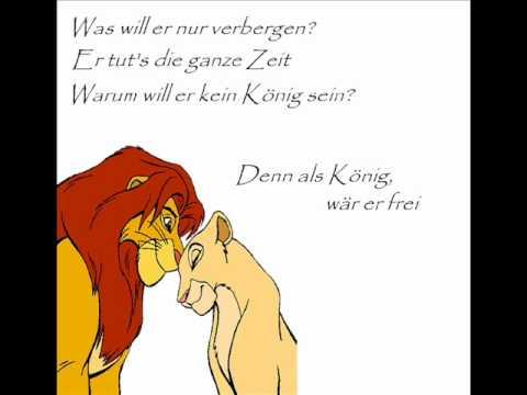Der König Der Löwen Kann Es Wirklich Liebe Sein Mit Lyrics Youtube