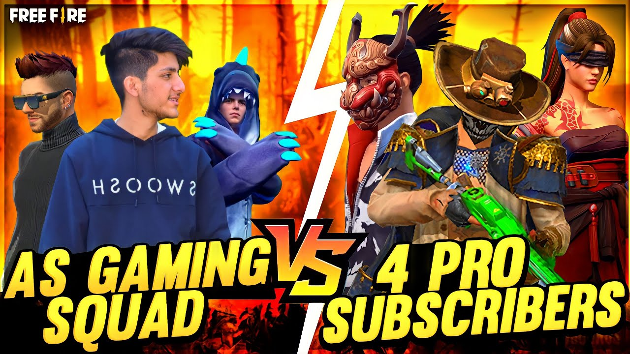 As Gaming Playing Clash Squad Match Playing With Friends And Subscribers Funny Moment InGarena Free🔥