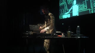 Felix Kubin - 28 minutes LIVE @ Jazzhouse, Copenhagen (9th of July, 2015)