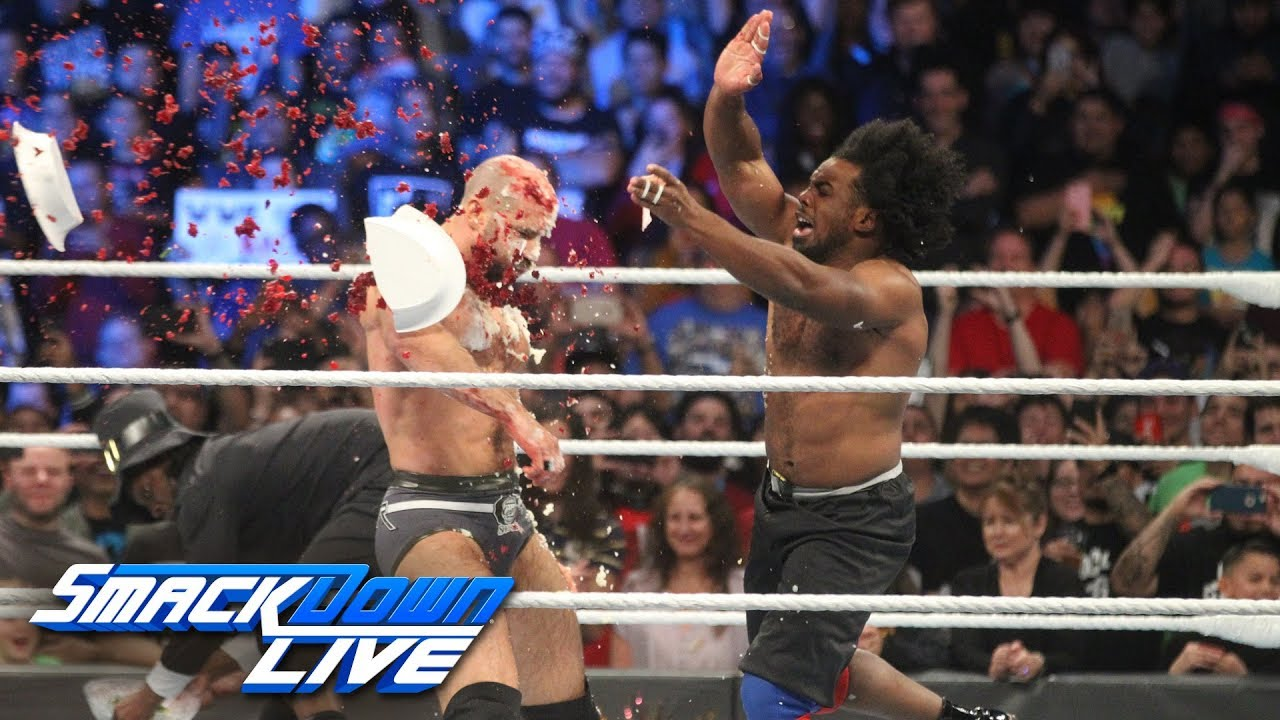 The New Day vs. The Bar & Big Show - Thanksgiving Feast Fight: SmackDown LIVE, Nov. 20, 2018