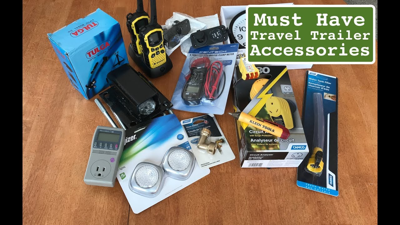 noobs accessories for our new jayco travel trailer slx 212qbw must have accessories for camper [ 1280 x 720 Pixel ]