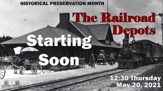 video thumbnail: History Chats | The Railroad Depots