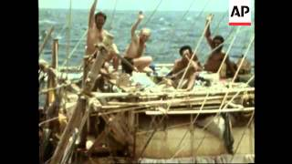 File of Kon Tiki explorer Thor Heyerdahl