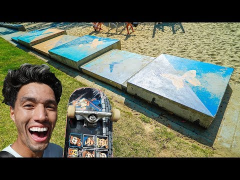 ULTIMATE SKATEBOARD BALANCE COURSE!!