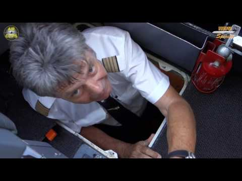 AMAZING!!! MD-11F HIDDEN ROOM under Cockpit discovered by Captain Fokko of LH Cargo! [AirClips]