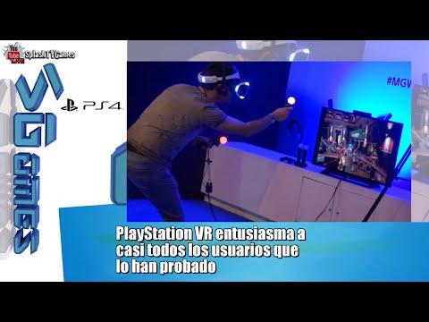 PlayStation VR entusiasma a  casi todos los usuarios que lo han probado
