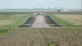 Pouso do E-175 da Trip Linhas Aéreas em Rondonópolis - MT