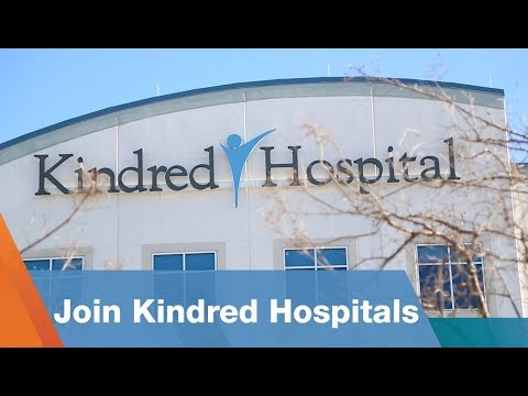 Join Kindred's Hospital Division