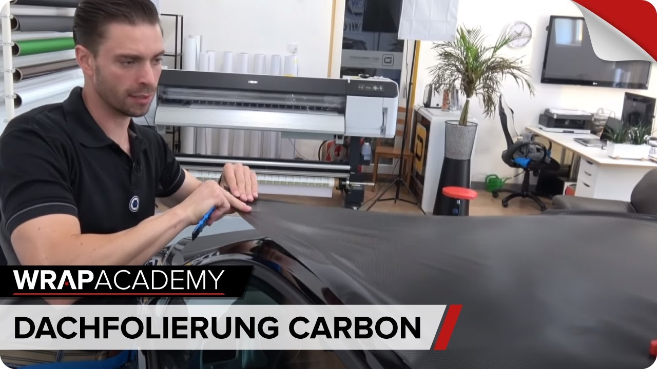 Carwrapping Schulung Dachfolierung Auto Folieren Lernen Youtube