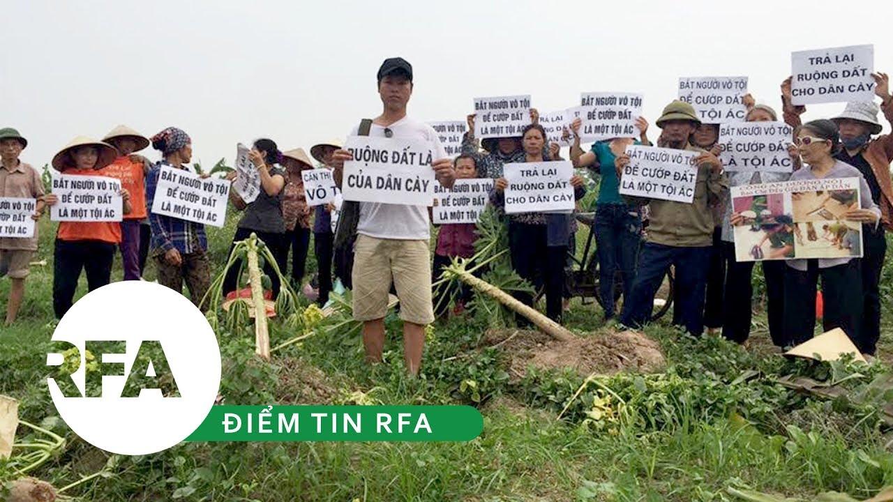 Điểm tin RFA | Thanh tra Chính phủ đối thoại với nông dân khiếu kiện Dương Nội
