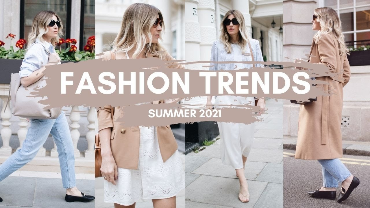 FASHION TRENDS 2021   Summer Outfits   CAPSULE WARDROBE ESSENTIALS
