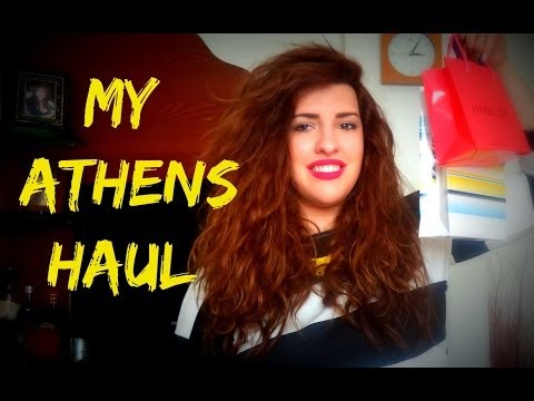 My Athens Haul!