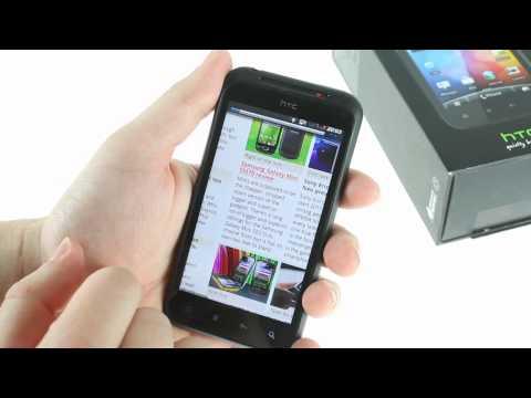 HTC Incredible S UI demo