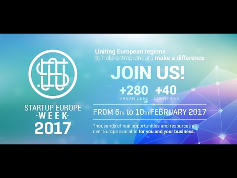 Startup Europe Week 2017: launch in Brussels
