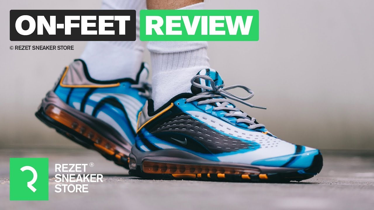 new arrival fb863 d3030 On-feet Review - Air Max Deluxe