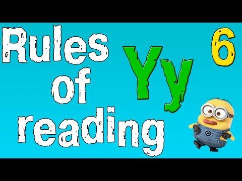 Как читается буква y