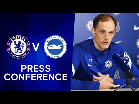 Thomas Tuchel Live Press Conference: Chelsea v Brighton | Premier League