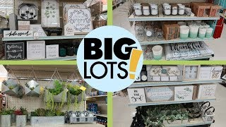 "BIG LOTS ""SPRING 2019"" HOME DECOR & MORE / COME WITH ME!"