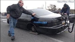 Black Magic Sends it! Turbo LSx Impala & Big RED Caprice Wagon Test Hit