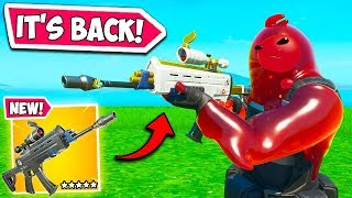 *UPDATE* SCOPED AR COMING BACK?? - Fortnite Funny Fails and WTF Moments! #747