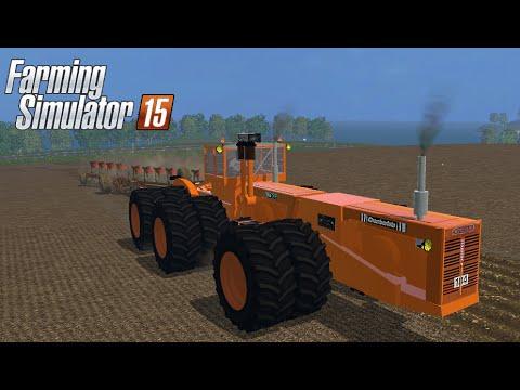 Farming Simulator 2015 mod monster tractor CHAMBERLAIN V2 - Most