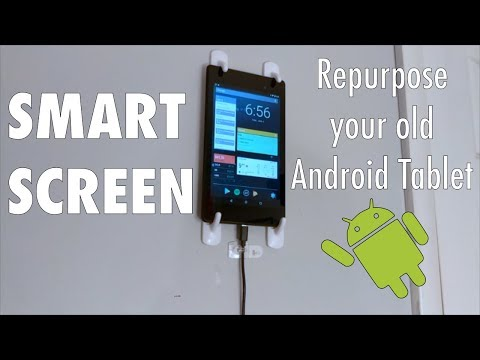 Turn your old Tablet into a Smart Screen! - YouTube