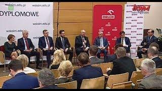 """Konferencja WSKSiM """"Nowe perspektywy rozwoju"""": Dyskusja panelowa"""