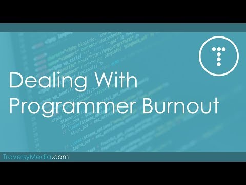 Dealing With Programmer Burnout