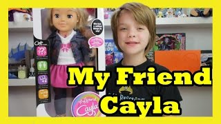 My Friend Cayla - Toy Saturday - Day 750 | ActOutGames