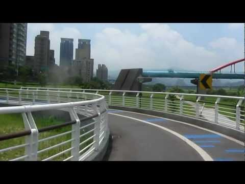 7 June 2012 Bicycle Ride along Xindian River north of Green Lake Video 1