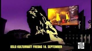 Kinoreklame Oslo kulturnatt 2009