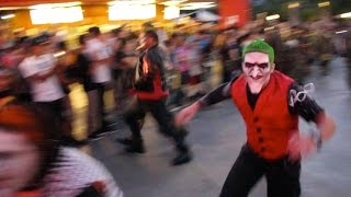 Fright Fest 2015 opening moment at Six Flags Magic Mountain