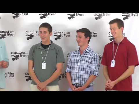Filmmakers Ethan LeBoeuf, Austin Mathews, Connell Smith, and Jacob Barnard: