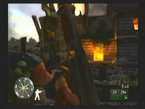 Let's Play Call Of Duty 2: Big Red One, Part: 1, Prologue, And Leaning