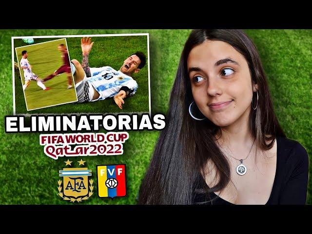 ARGENTINA vs VENEZUELA   Reacción de HINCHA URUGUAYA   Eliminatorias Qatar 2022