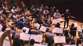 Baltimore Symphony Orchestra Rehearses Excerpt from Bernstein