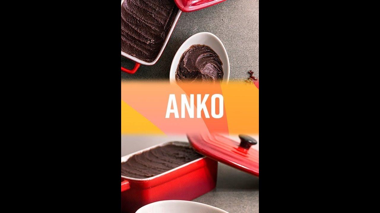 COMO FAZER PASTA DE FEIJÃO DOCE(ANKO) #shorts