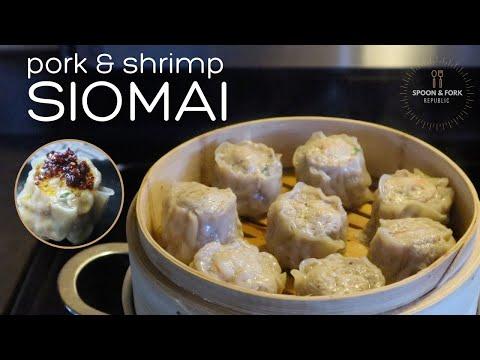 Pork & Shrimp Siomai | Dim Sum Dumplings | Spoon & Fork Republic