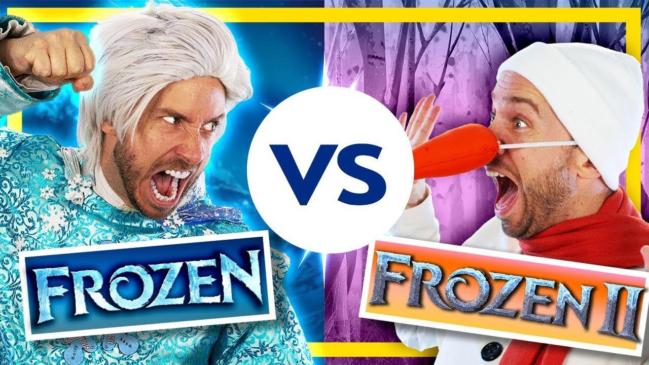 Download Frozen vs Frozen 2