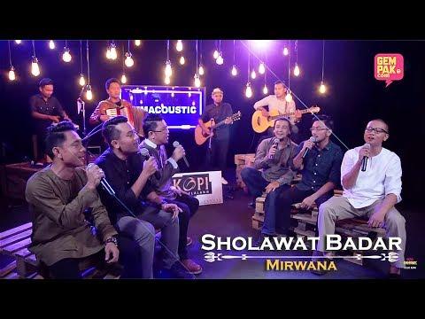 Mirwana - Sholawat Badar | #GemaCoustic [MV]